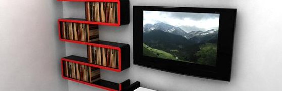 Modular floating shelf systems that are good looking