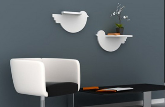 Idea 2: Floating Shelf As Wall Decorations. Some ...