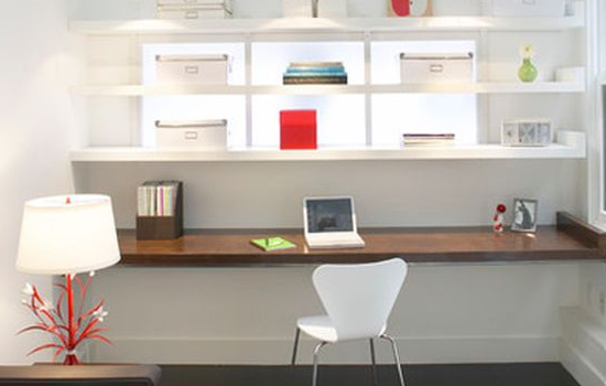 office floating desk design