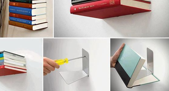 how does invisible bookshelf work