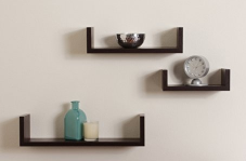 floating shelf with hidden storage 1