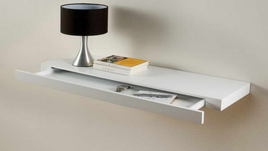 floating shelf with hidden storage 4