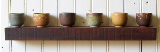 Rustic floating shelves - 4 designs you can either buy or DIY