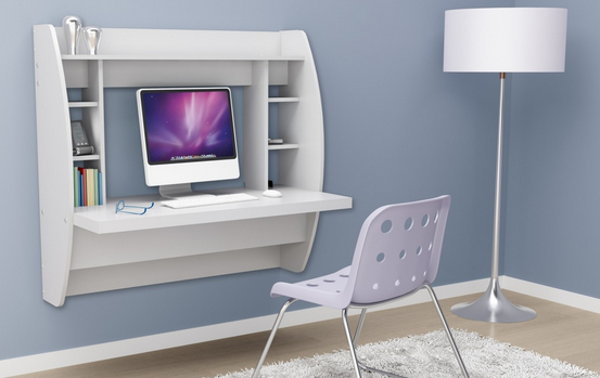 small floating wall desk 1