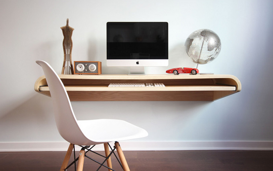 small floating wall desk 3