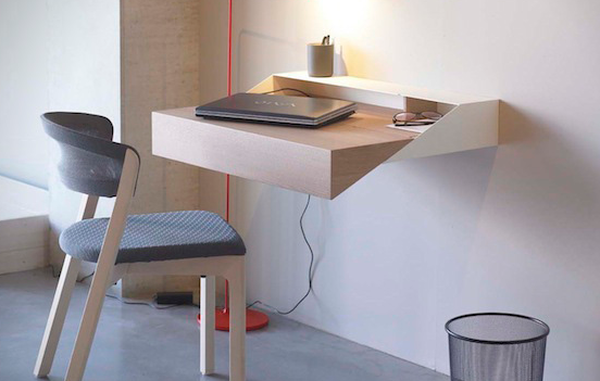small floating wall desk 6
