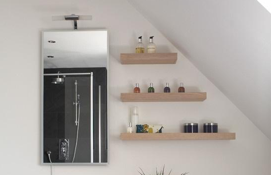 floating shelves ideas for bathroom 5