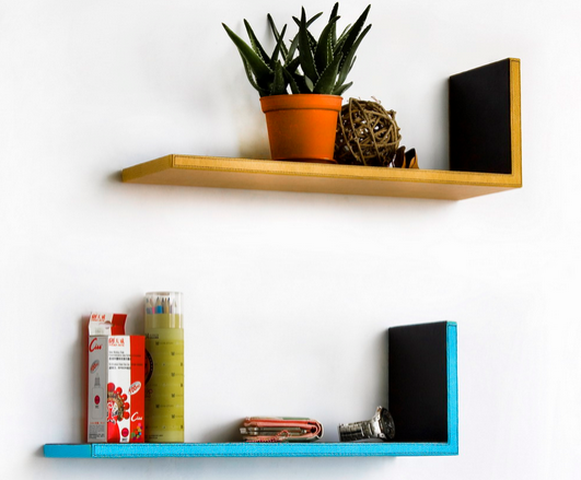 wall decor floating shelves 2