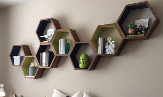 wall decor floating shelves 5